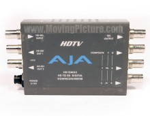 AJA HD10MD3 HD-SDI/SDI to Composite/Component Downconverter