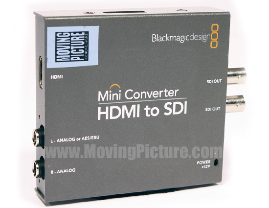 Blackmagic HDMI to SDI Converter