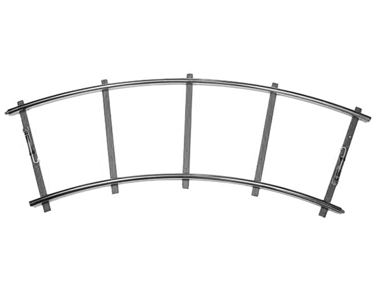 Dolly Track - 45 Degree (Curved)