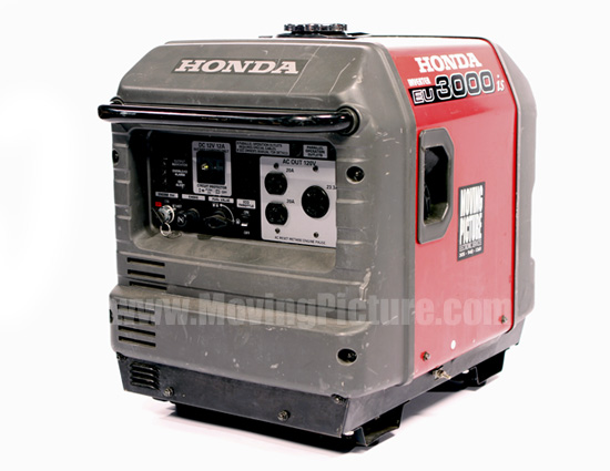 Honda 3000 Watt Generator - Moving Picture Rental