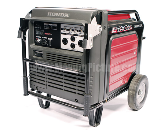 honda  generator moving picture rental