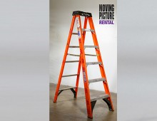 A ladder is a vertical or inclined set of rungs or steps. There are two types: rigid ladders that can be leaned against a vertical surface such as a wall, and rope ladders that are hung from the top. The vertical members of a rigid ladder are called stringers or rails (US) or stiles (UK). Rigid ladders are usually portable, but some types are permanently fixed to buildings. They are commonly made of metal, wood, or fiberglass, but they have been known to be made of tough plastic.