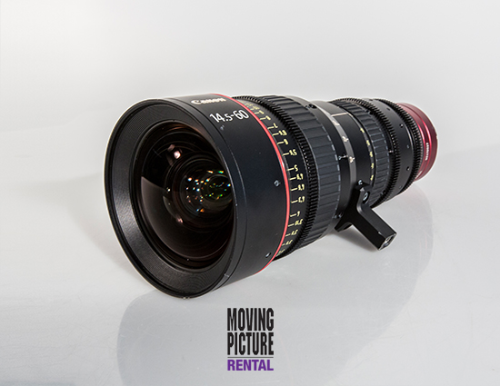 Canon Cinema Zoom Lens 14.5-60mm T2.6
