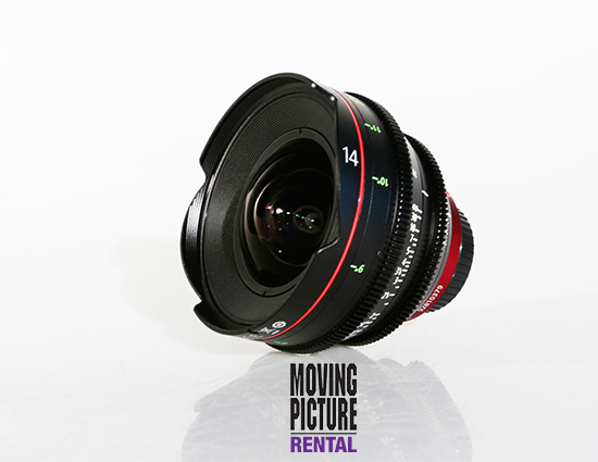 Canon CN-E 14mm Cinema Prime Lens
