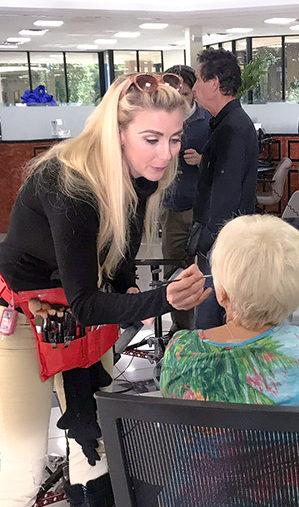 Makeup Lady