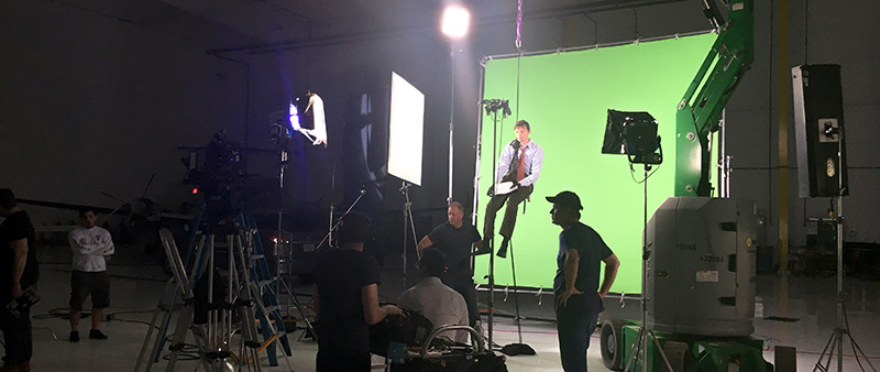 Adove, Wrecking Ball Studio + Labs Green Screen